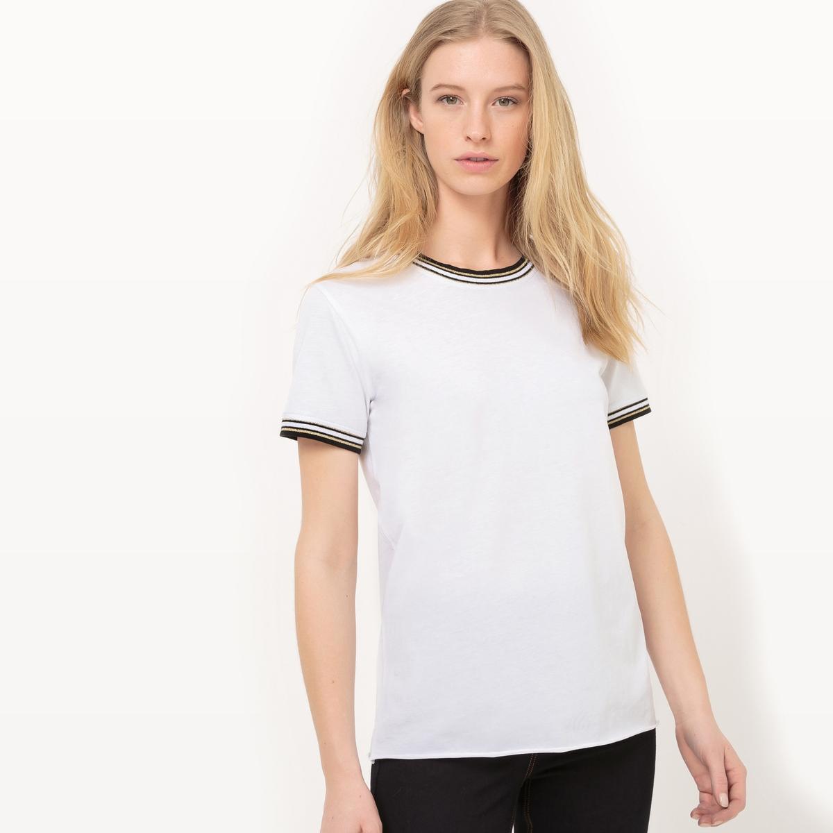 Camiseta de algodón, manga corta