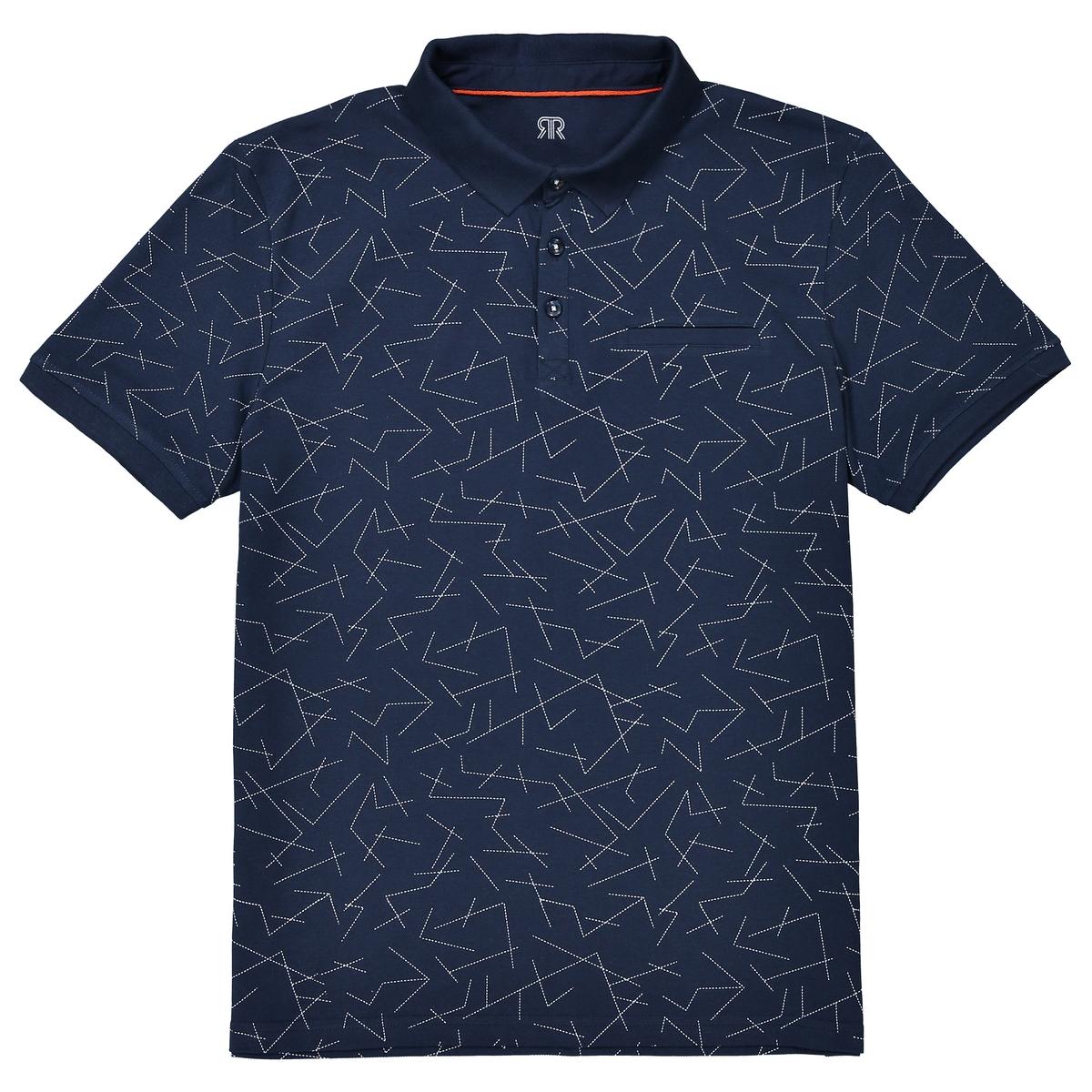 Футболка-поло с рисунком футболка поло fred perry m3593 d69