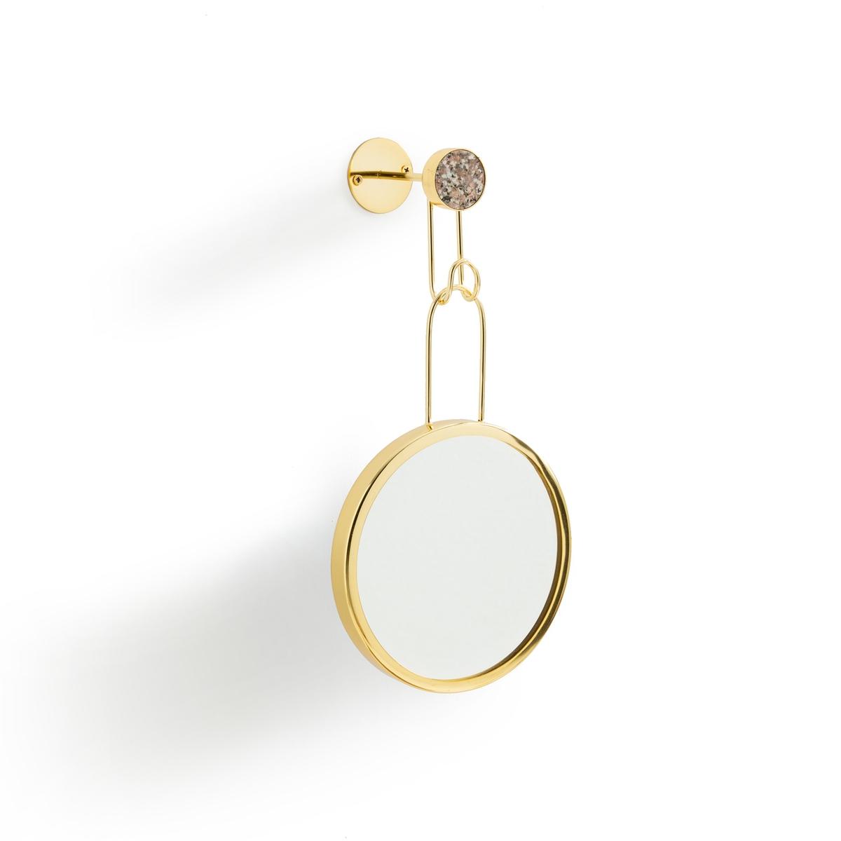 Зеркало La Redoute Настенное Louna единый размер золотистый зеркало настенное home philosophy male collection 70379
