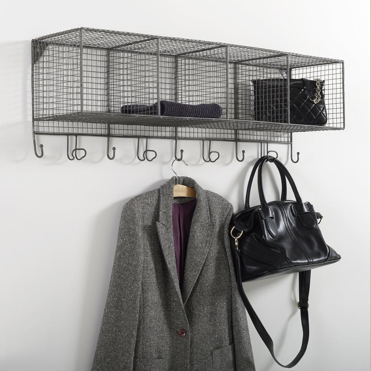 Вешалка-этажерка из металлической проволоки Aréglo