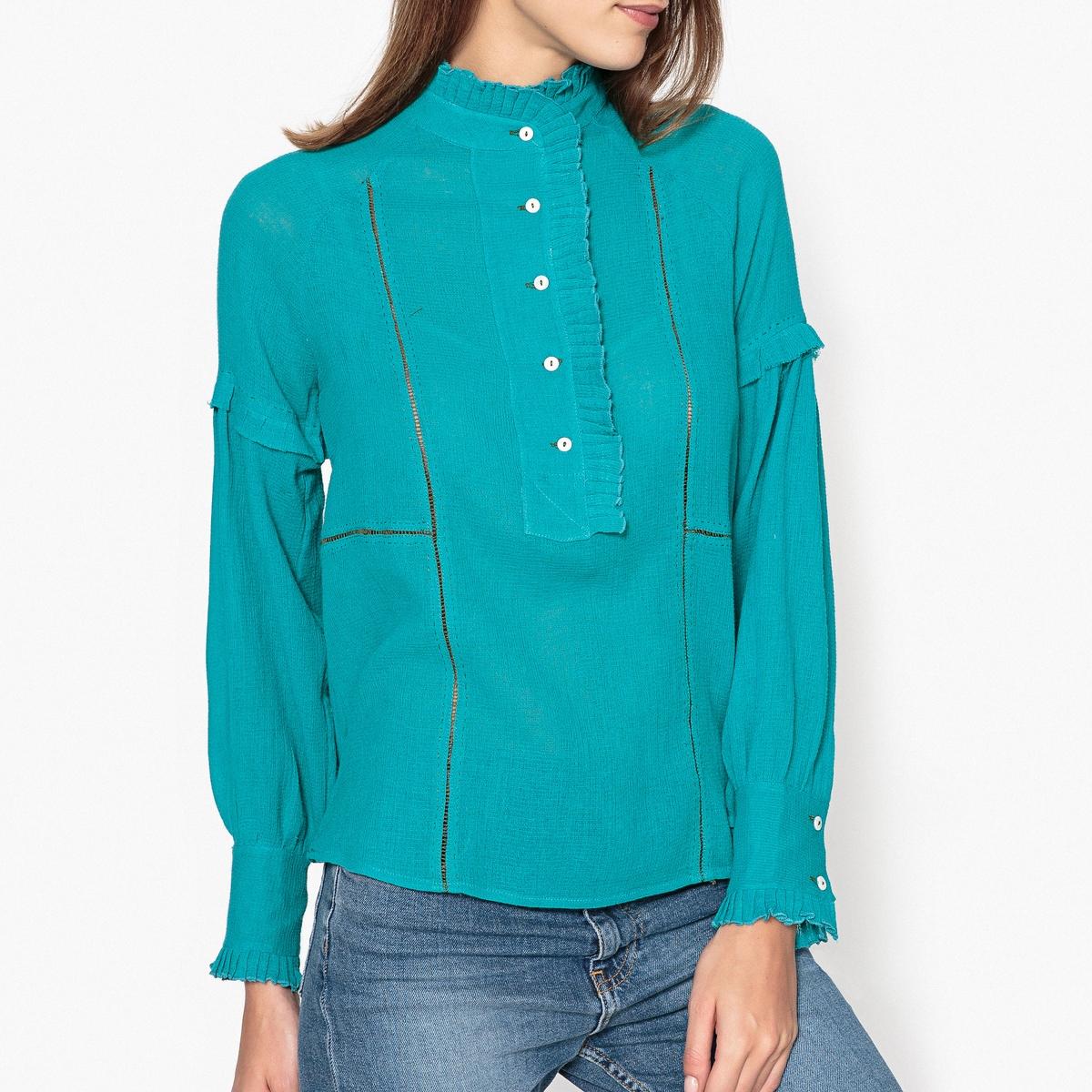 Блузка с воланами BONTY BLOUSE