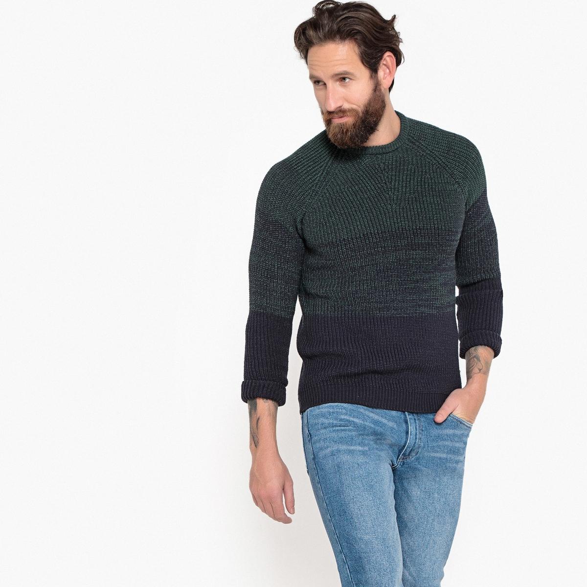 Пуловер с круглым вырезом из плотного трикотажа La Redoute Collections
