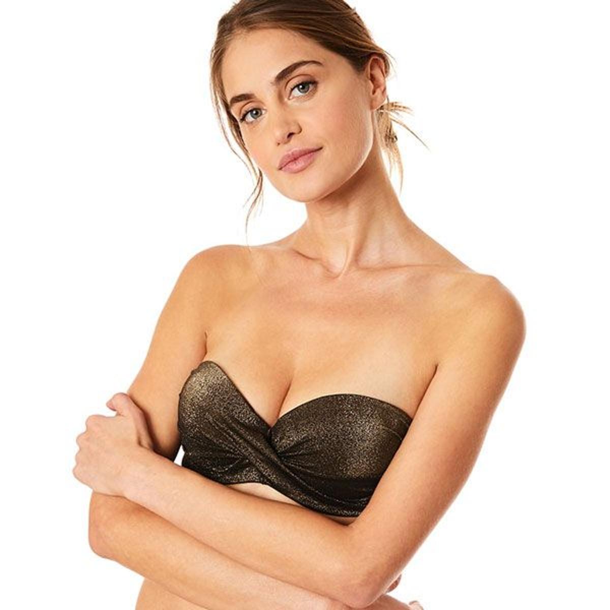 866a9d37994b Haut de maillot de bain 2 pieces femme brillant MARTHE KERIOS. LIVIA