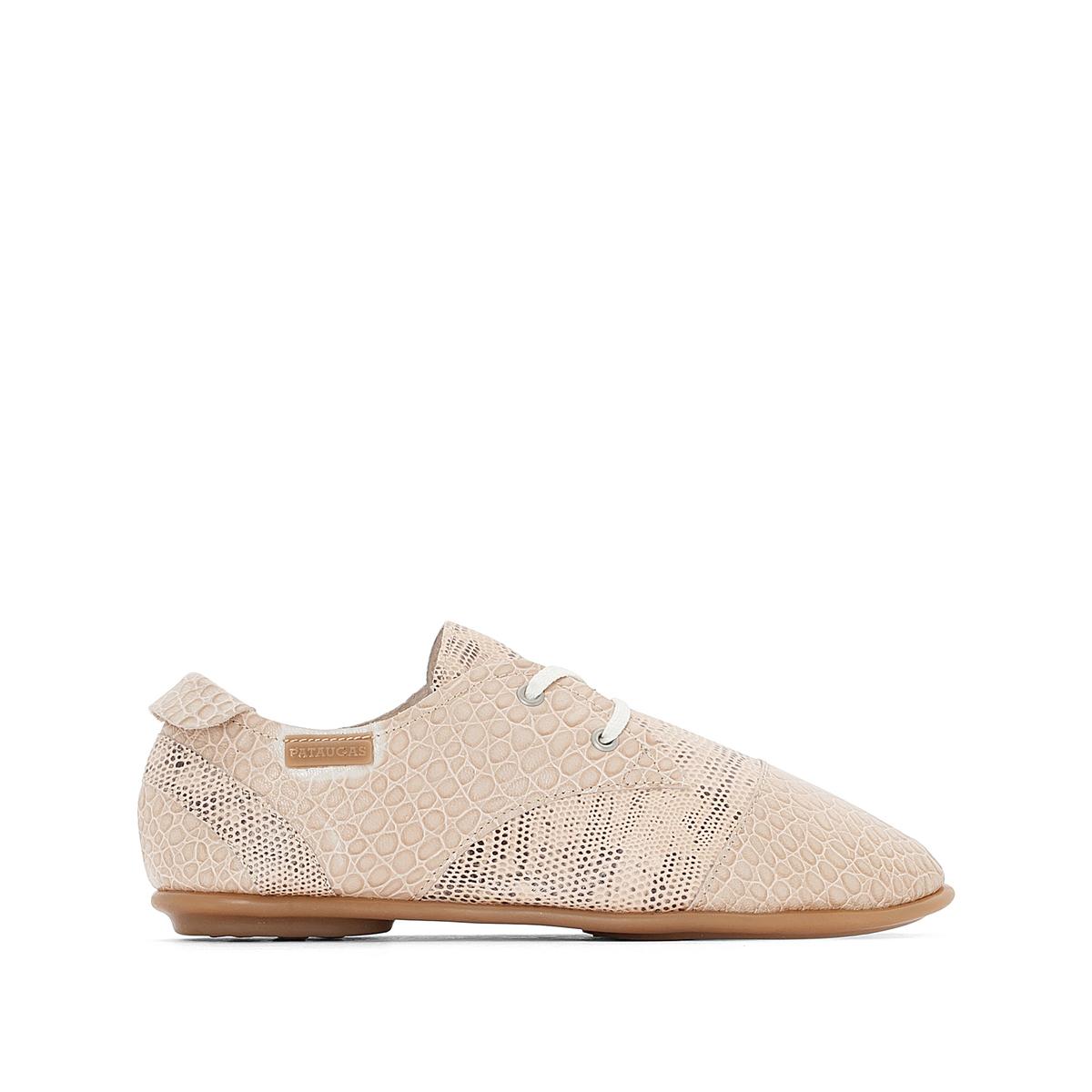 купить Ботинки-дерби на шнуровке из кожи, Swing недорого