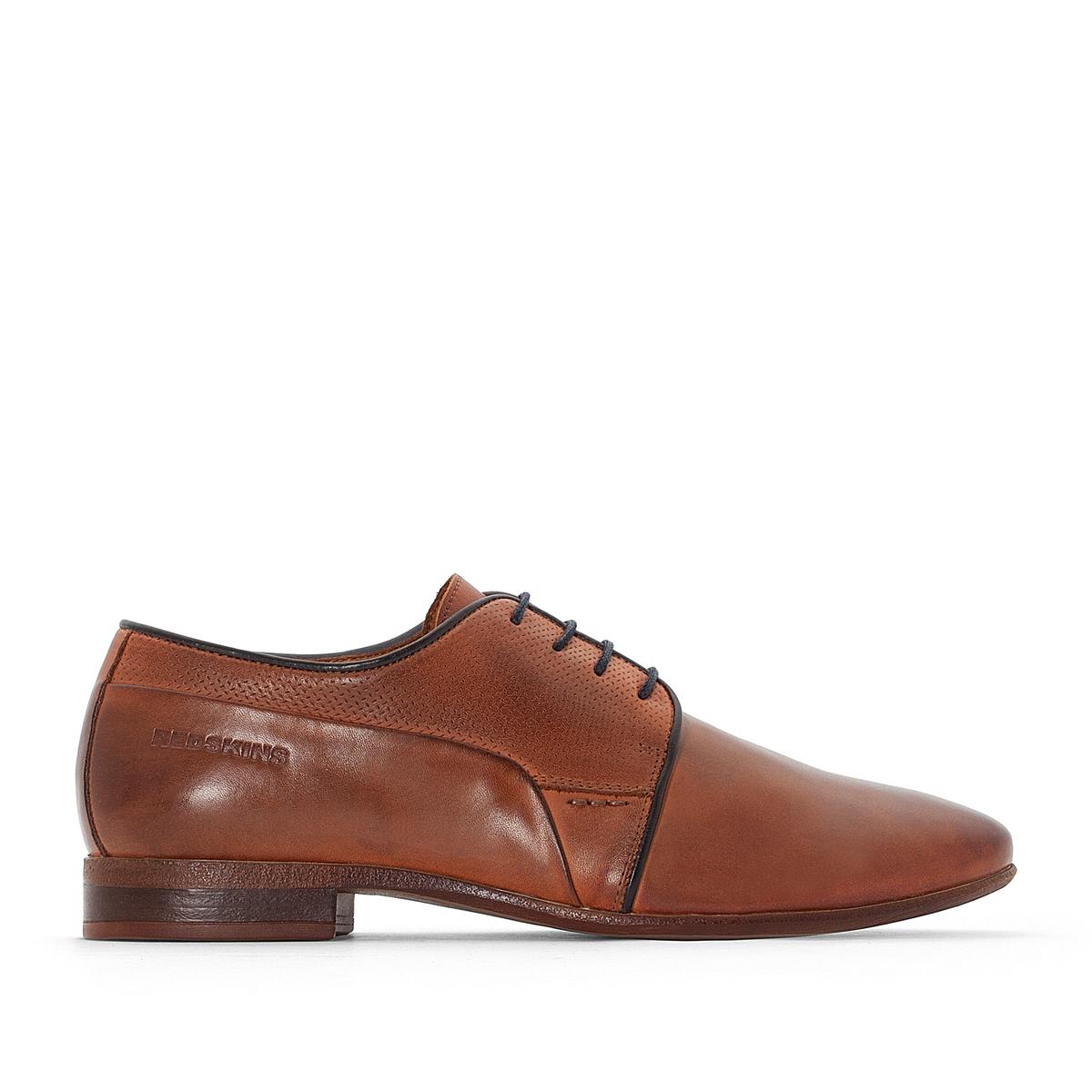 Ботинки-дерби кожаные Lagan ботинки дерби под кожу питона