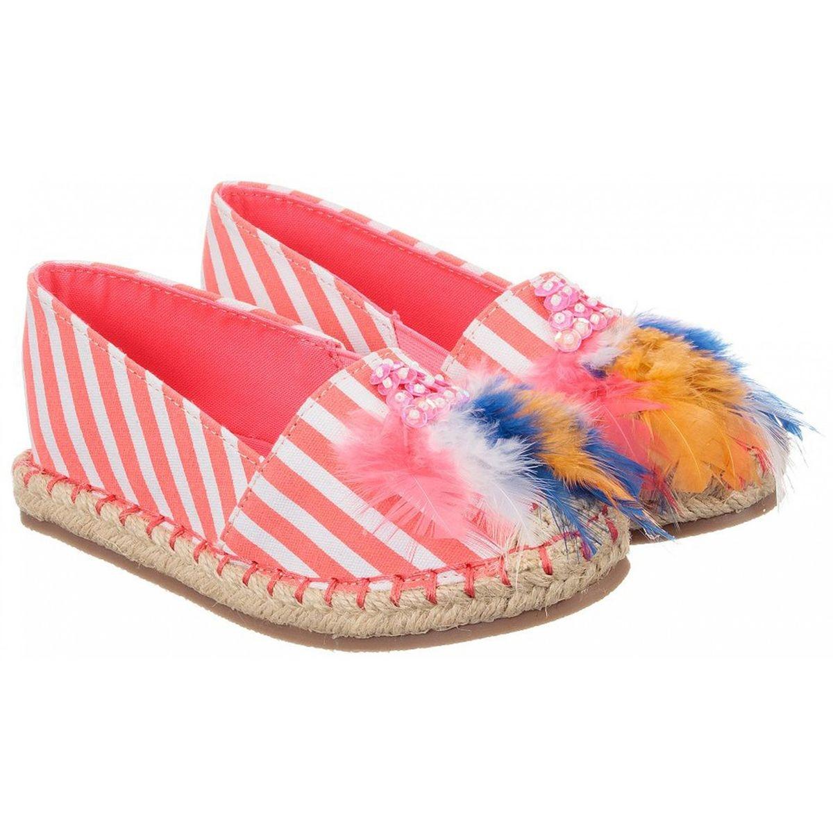 Chaussures espadrilles rayé
