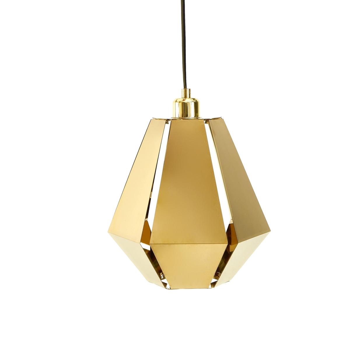 Candeeiro de teto origami, latão, Takoi