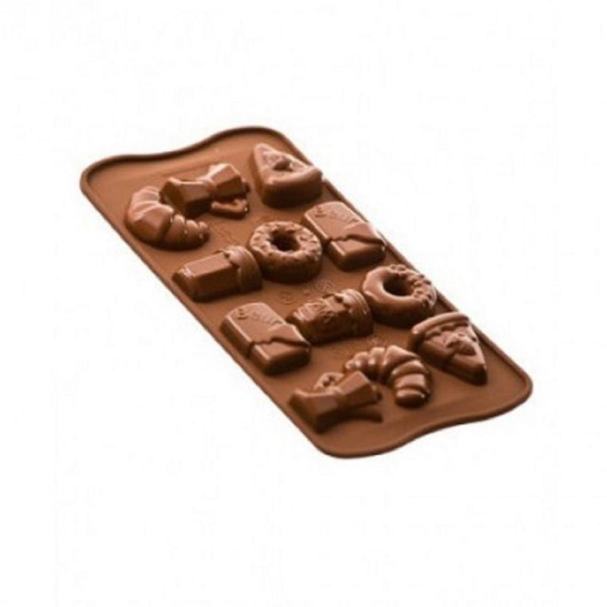 Moule à chocolat spécial Petit déjeuner