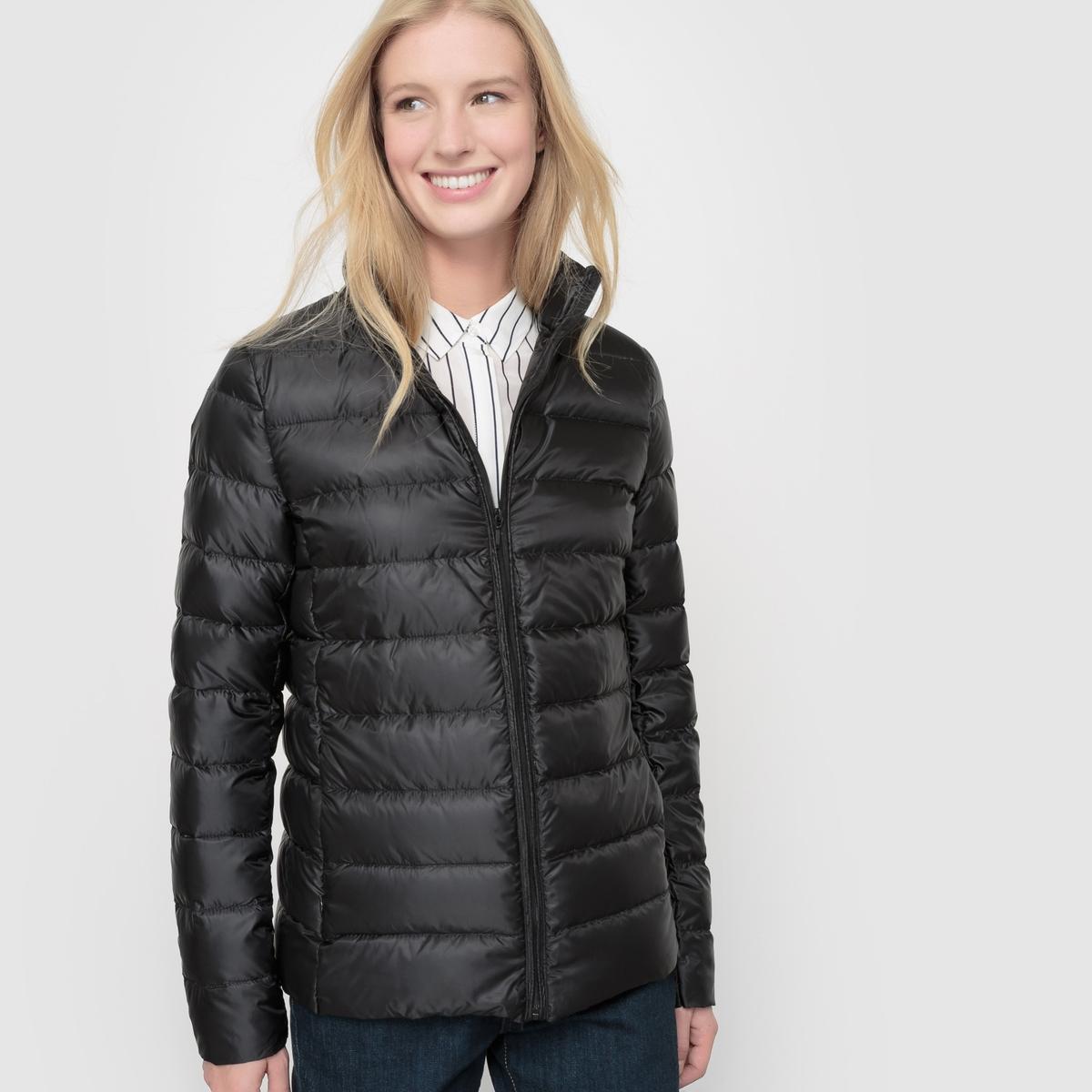 Куртка легкая с наполнителем из натурального пуха