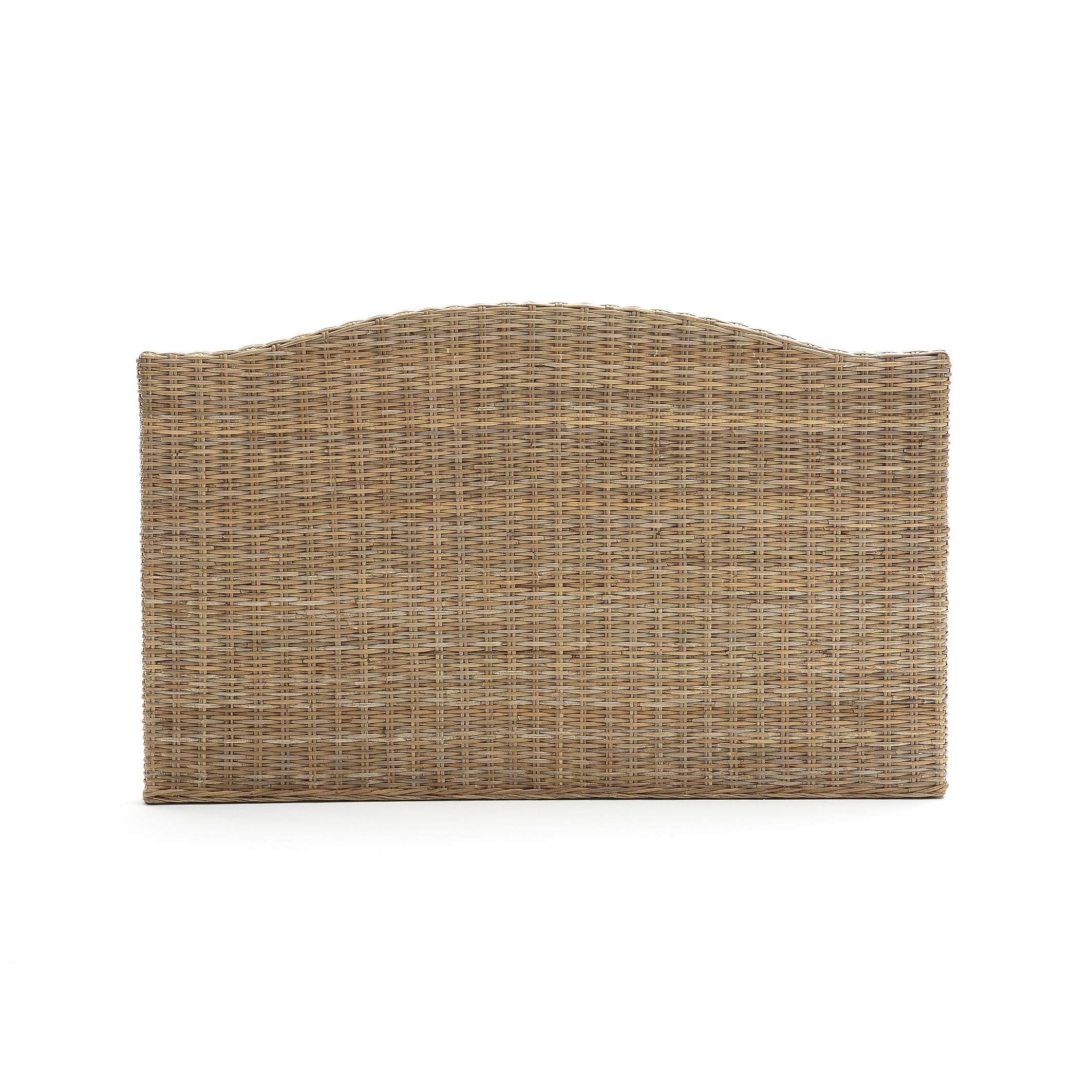 """Bild Kopfteil \""""Malu\"""", geflochtene Pflanzenfaser, für Doppelbett"""