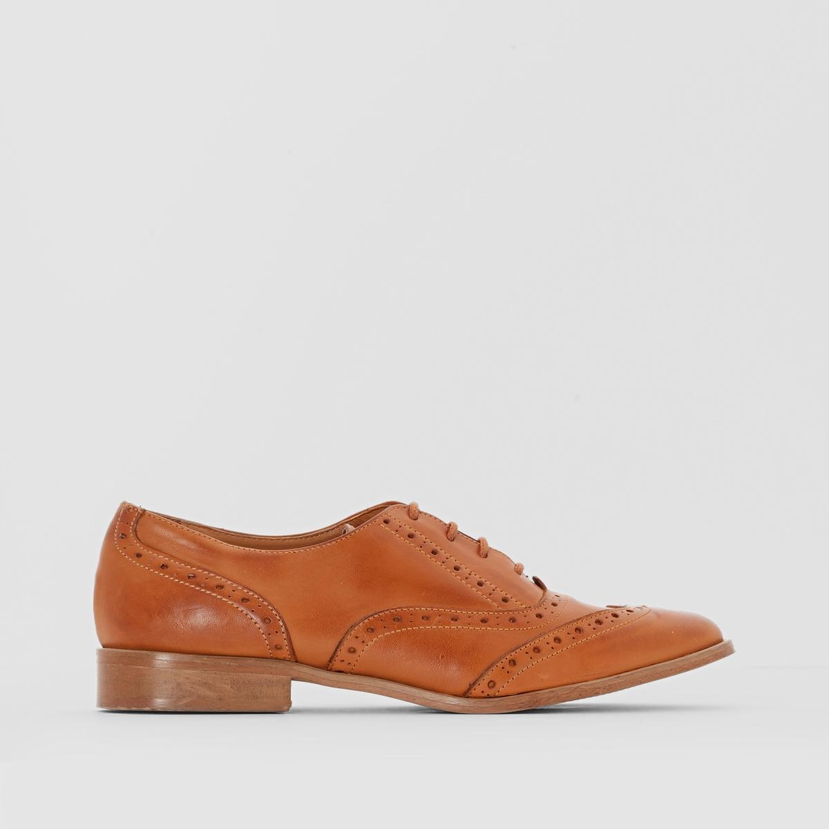 Туфли-дерби из кожи на шнуровке от ANNE WEYBURN