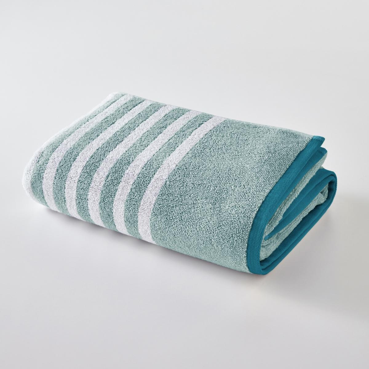 Полотенце банное в полоску, 500 г/м²