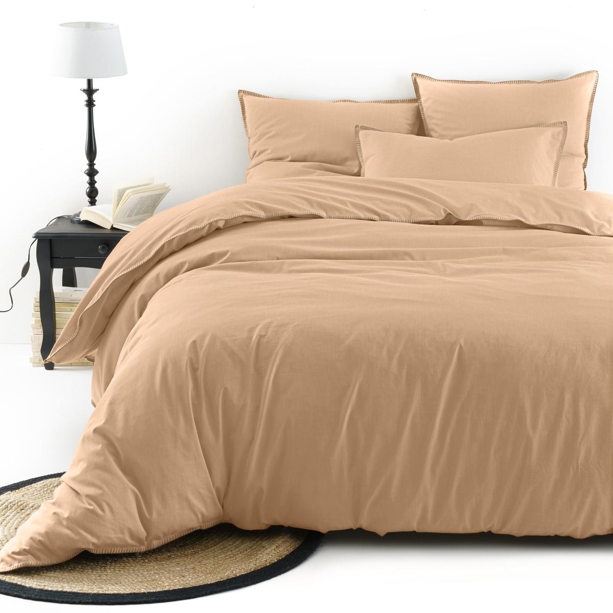 Пододеяльник из шамбре, KOLZAПододеяльник из ткани шамбре Kolza. Постельное белье Kolza модных расцветок из ткани шамбре, 100% хлопок, комфортное и очаровательное постельное белье в минималистском стиле.Характеристики пододеяльника Kolza : Ткань шамбре, 100% хлопок, качество Best, 57 нитей/см? : чем больше нитей/см?, тем выше качество материала.Прямой низ с застежкой на пуговицы.Отделка в виде контрастных швов цвета небеленой ткани. Машинная стирка при 60 °С.Весь комплект постельного белья из шамбре Kolza Вы найдете на laredoute.ruЗнак Oeko-Tex® гарантирует, что товары прошли проверку и были изготовлены без применения вредных для здоровья человека веществ.Размеры : 140 x 200 см : 1-сп. 200 х 200 см : 1-2-сп. 240 х 220 см : 2-сп. 260 х 240 см : 2-сп.<br><br>Цвет: желтый кукурузный,сероватый,серо-зеленый,серо-коричневый,терракота<br>Размер: 240 x 220  см.140 x 200  см.200 x 200  см