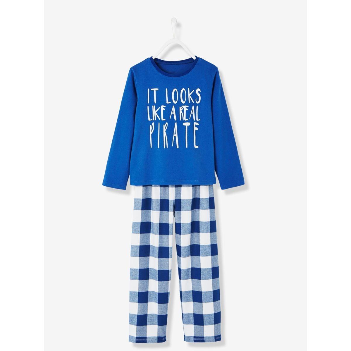 Pyjama bi-matière garçon