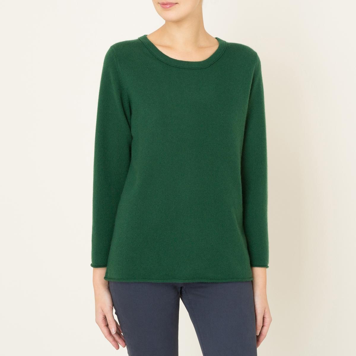 Пуловер HANNAH, 100% кашемирСостав и описание :         Материал : 100% кашемир          Марка : LA BRAND BOUTIQUE<br><br>Цвет: зеленый
