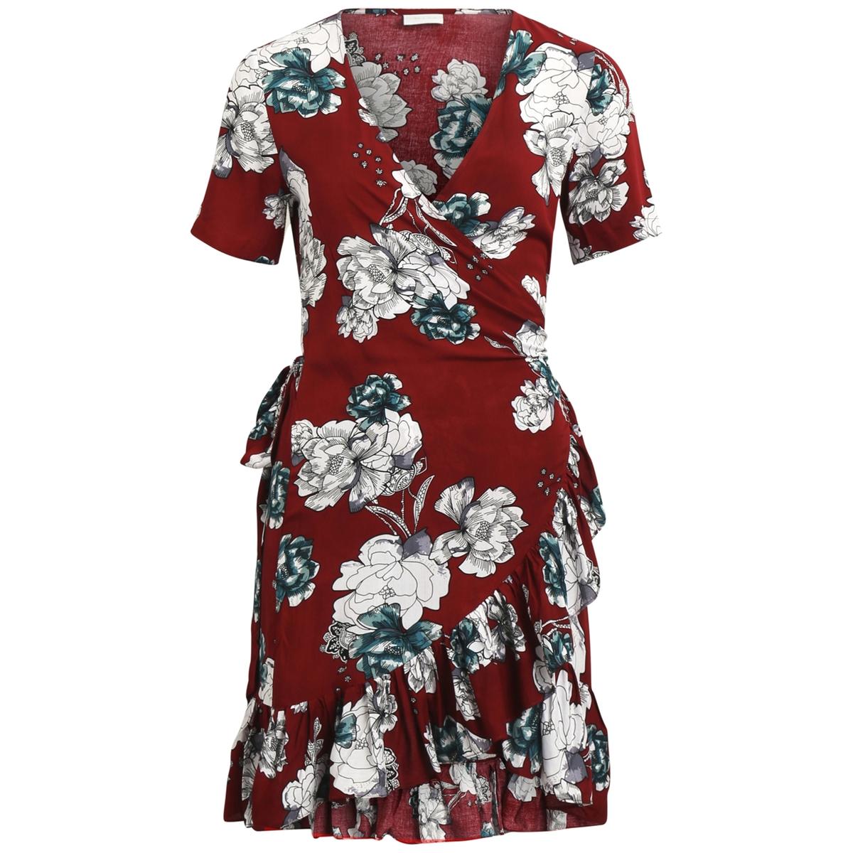Платье короткое расклешенное с цветочным рисунком от La Redoute