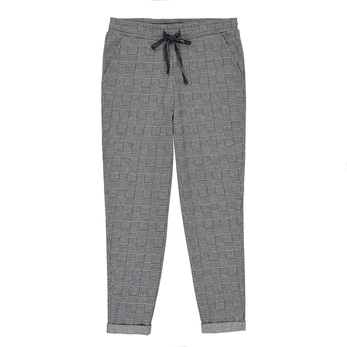 Pantaloni a quadri in felpa 3 - 12 anni