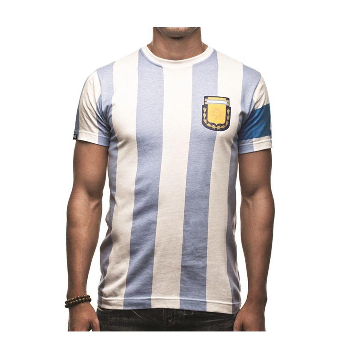 T-SHIRT ARGENTINE CAPITANO 10