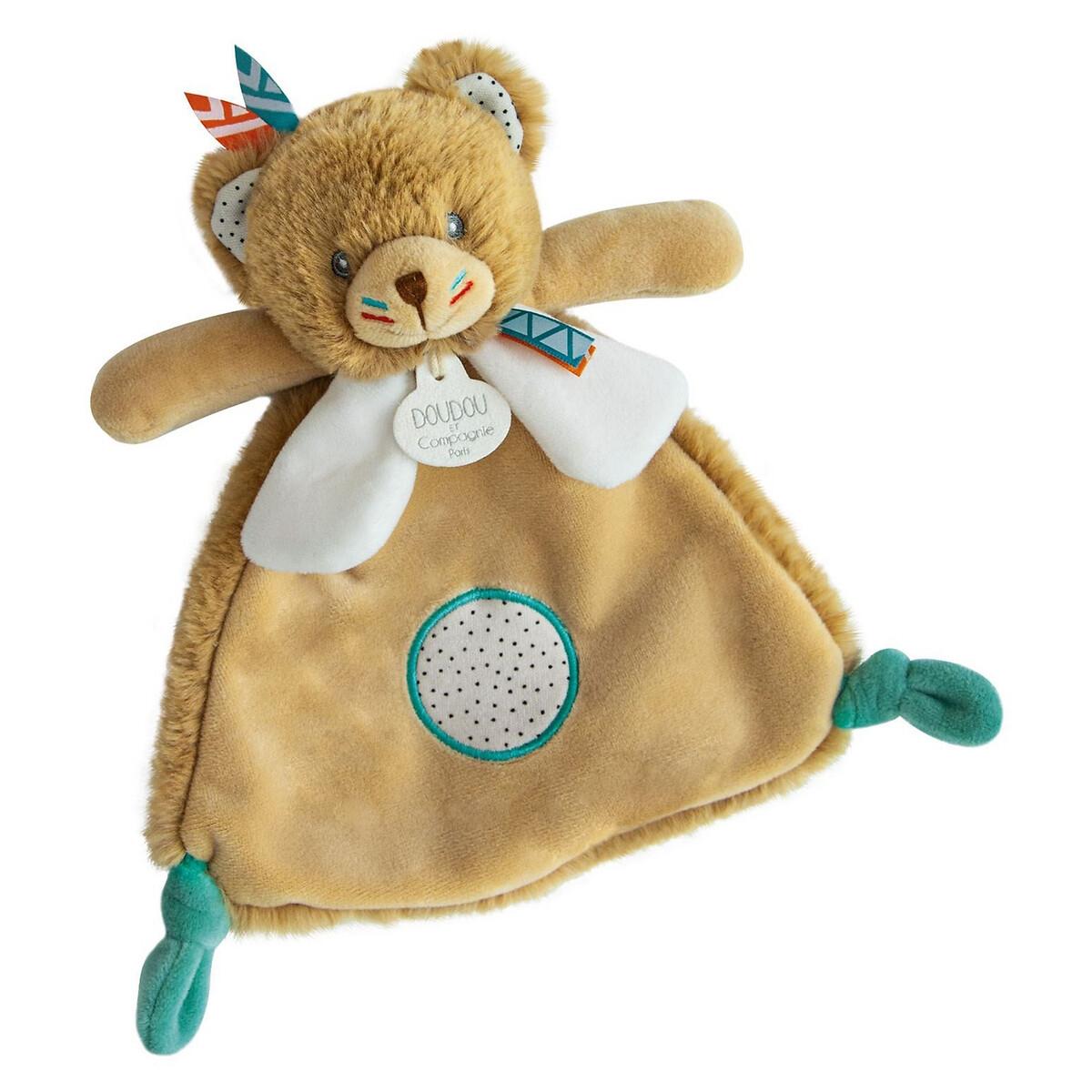 An image of Doudou Et Compagnie Newborn Tiwipi Bear Comforter - 23cm