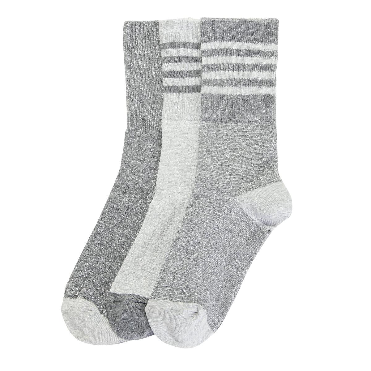 3 пары носков спортивных комплект из 2 пар коротких спортивных носков