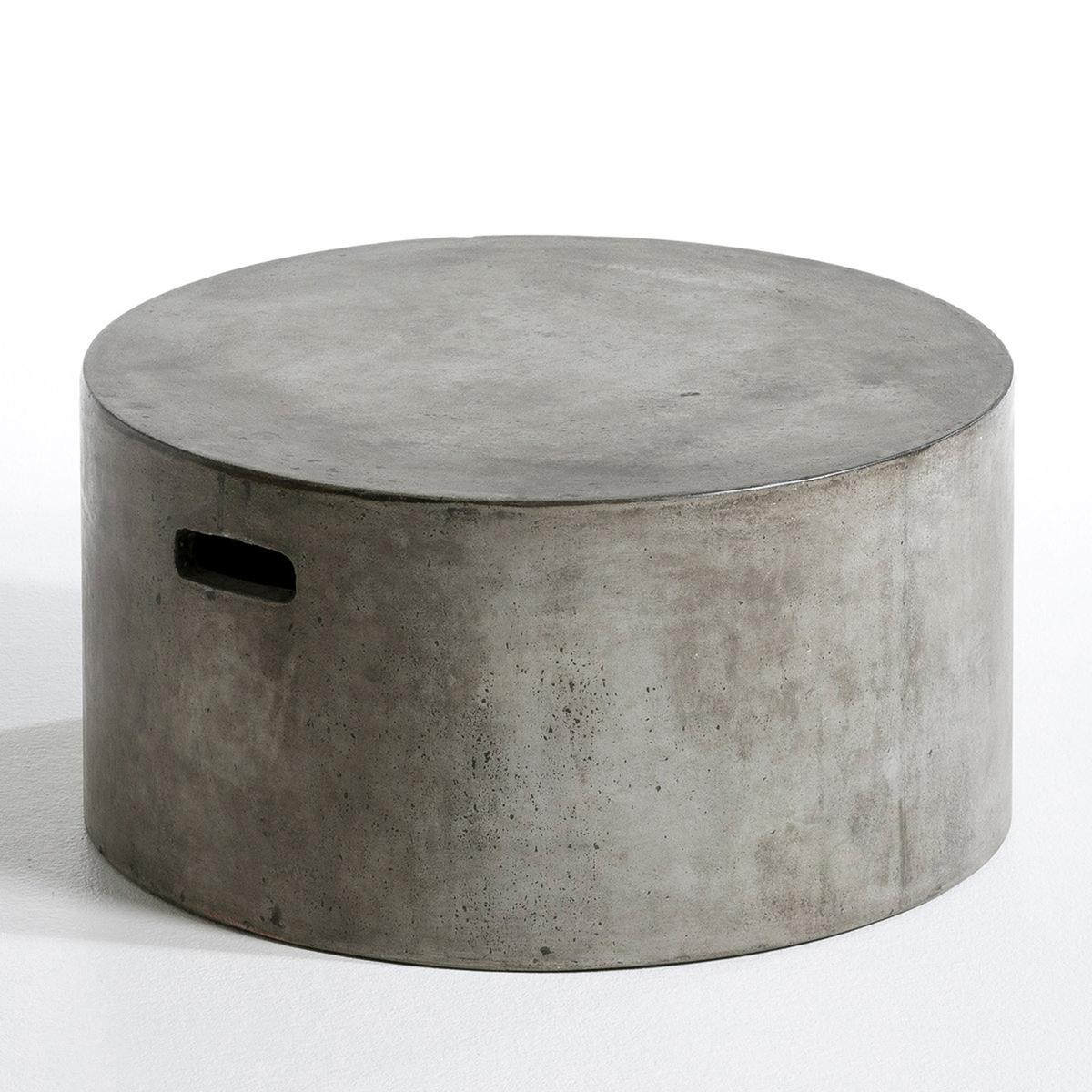 Столик La Redoute Журнальный из цемента Tatum единый размер серый цены