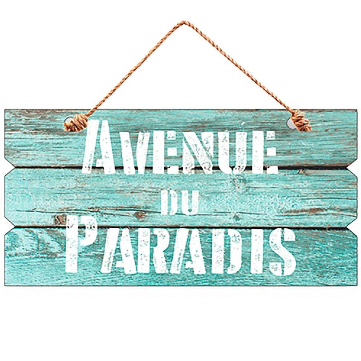 Décoration murale Avenue du Paradis