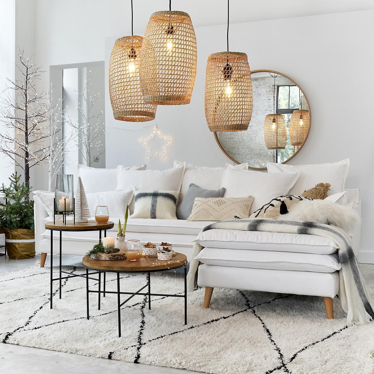 Canapé d'angle Tissu Confort