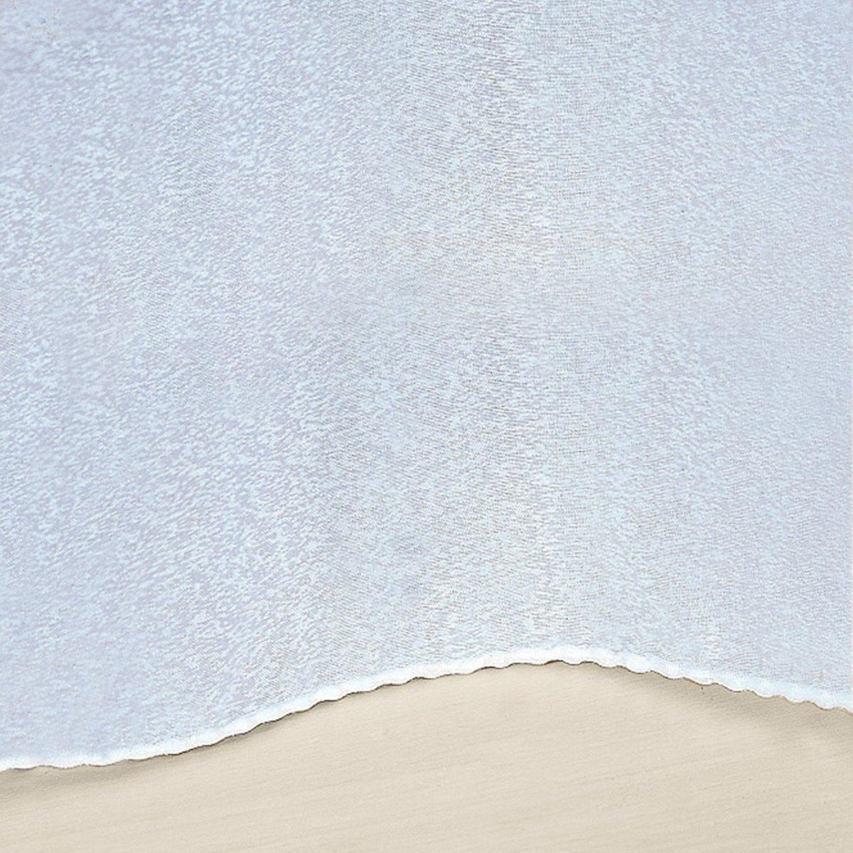 Занавеска с отделкой тесьмой со сборками, SYLVAТесьма шириной 6 см (3 уровня крепления !), позволяющая отрегулировать длину, и нижний край с красивой отделкой !Характеристики занавески :-Сделано во Франции .- Занавеска из 91% полиэстера, 9% льна.- Легкий уход : стирка при 40°, утюжка не требуется. - Размеры в см.Производство осуществляется с учетом стандартов по защите окружающей среды и здоровья человека, что подтверждено сертификатом Oeko-tex®.<br><br>Цвет: белый<br>Размер: 240 x 300  см