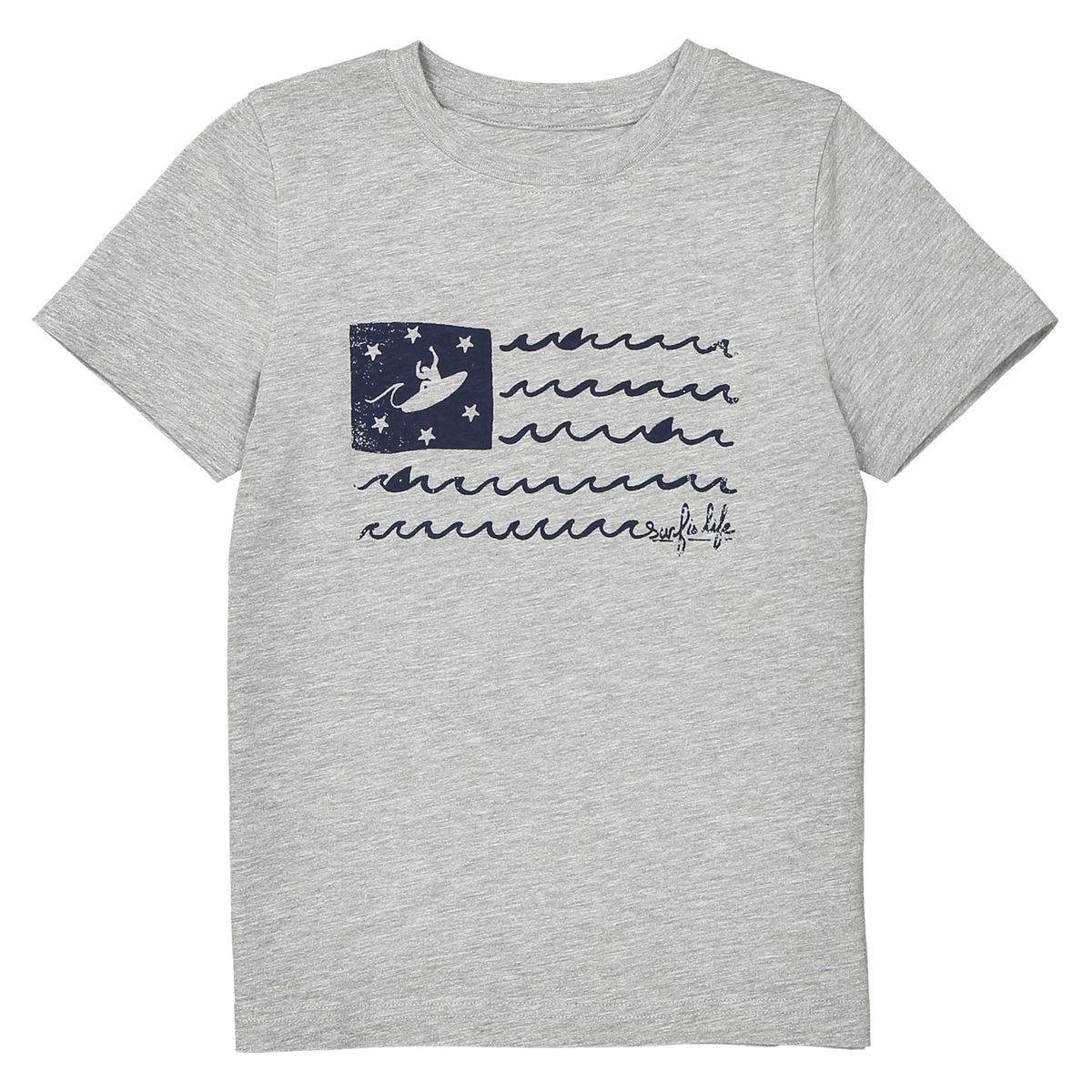 T-shirt imprimé en coton 3-12 ans
