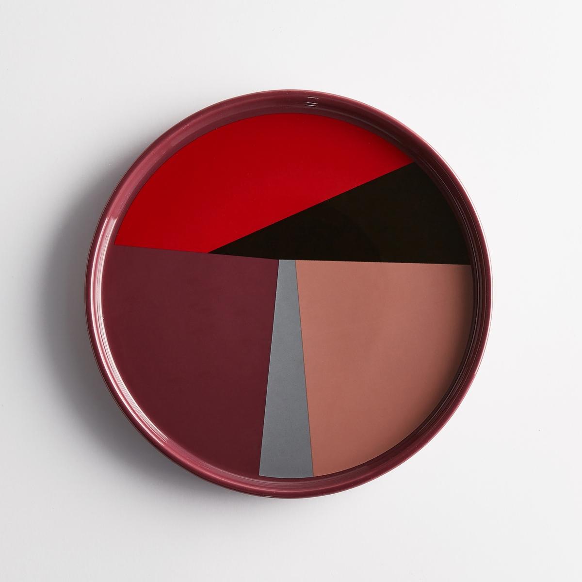 Тарелка десертная керамическая (4 шт.) DRISKOLХарактеристики 4 десертных тарелок из керамики Driskol :Из керамики.Разноцветный геометрический рисунок.Размеры 4 десертных тарелок из керамики Driskol :диаметр 20 см.Другие тарелки и предметы декора стола вы можете найти на сайте laredoute.ru<br><br>Цвет: разноцветный