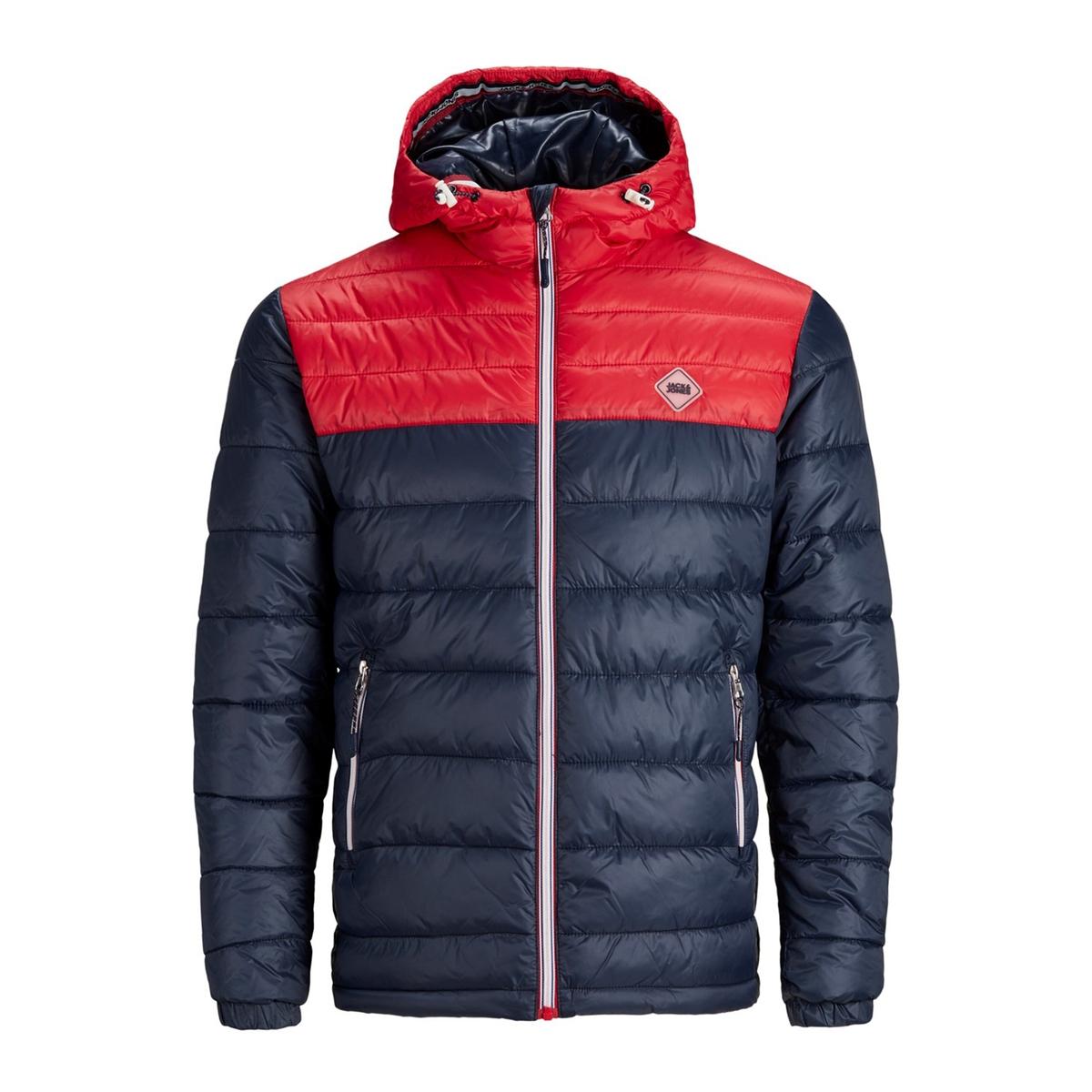 Куртка La Redoute Стеганая утепленная с капюшоном Jorhardylight S синий пуховая стеганая куртка с капюшоном