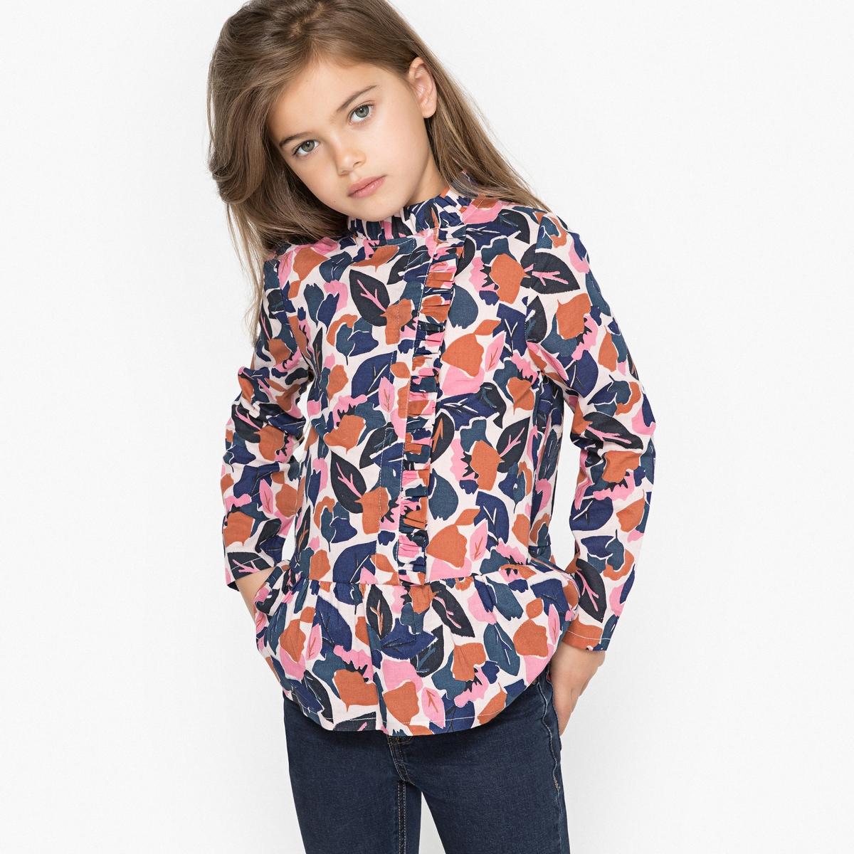 Блузка с принтом 3-12 лет