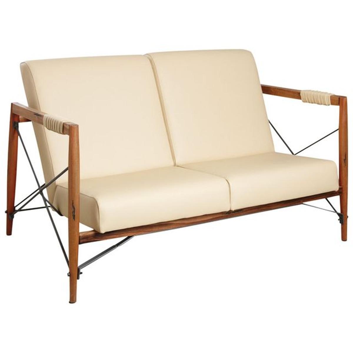 Canapé en bois de suar massif