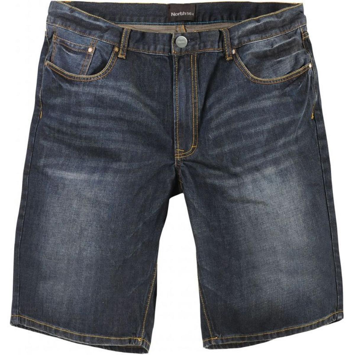 Short en jean north bleu délavé