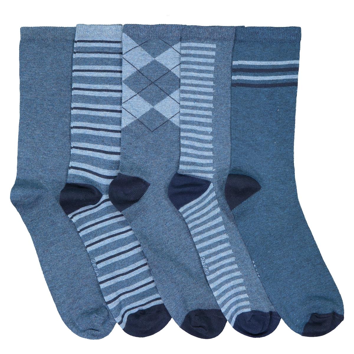5 пар La Redoute Носков 1922-3942 31/34 синий ostin сет из 5 пар носков