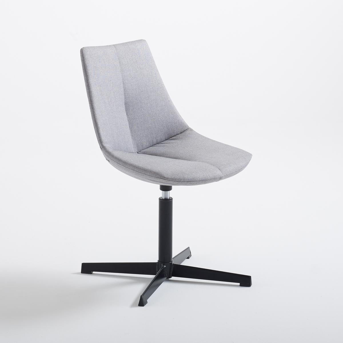 Стул офисный с вращающимся сиденьем NumaСтул офисный с вращающимся сиденьем, Numa . Благодаря минималистическому и элегантному дизайну стул Numa гармонично подойдет под любую обстановку.Описание офисного стула Numa :Вращающееся  сиденье без регулировки по высоте .Характеристики офисного стула Numa :Сиденье из ткани 100% полиэстера .Низ и ножка из стали с эпоксидным покрытием .Покрытие каркаса из полипропилена  .Найдите другие моделли коллекции Numa на сайте laredoute .ruРазмеры стула Numa :ОбщиеШирина : 62,5 см Высота : 80,5 см Глубина : 62,5 см Сиденье52 x 48,5 x 62,5 см Размеры и вес ящика :1 посылка52 x 48,5 x 62,5 см  9 кгДоставка :Офисный стул Numa продается готовым к сборке . Доставка осуществляется до квартиры !Внимание ! Убедитесь, что товар возможно доставить на дом, учитывая его габариты (проходит в двери, по лестницам, в лифты).<br><br>Цвет: светло-серый