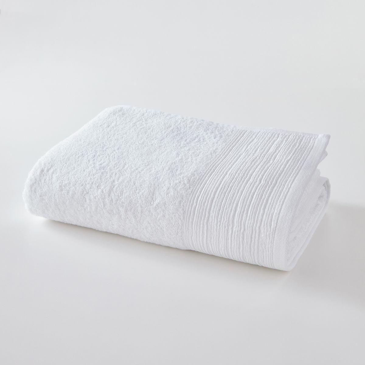 Drap de bain uni coton bio 500g/m² SCENARIO