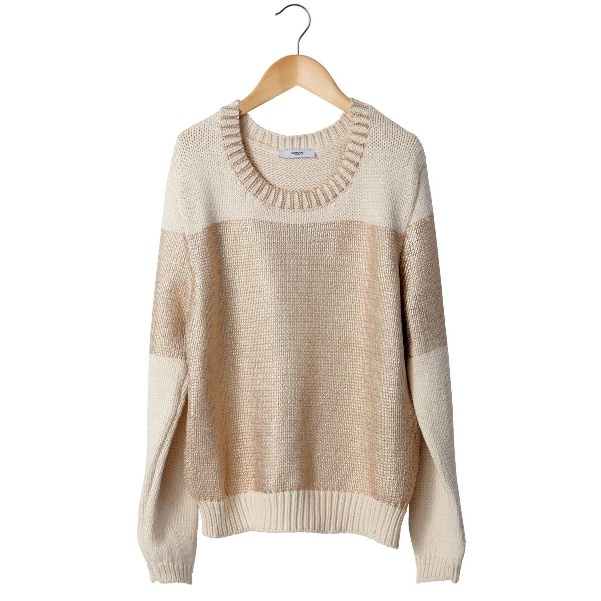 Пуловер<br><br>Цвет: бежевый<br>Размер: 1(S).2(M)