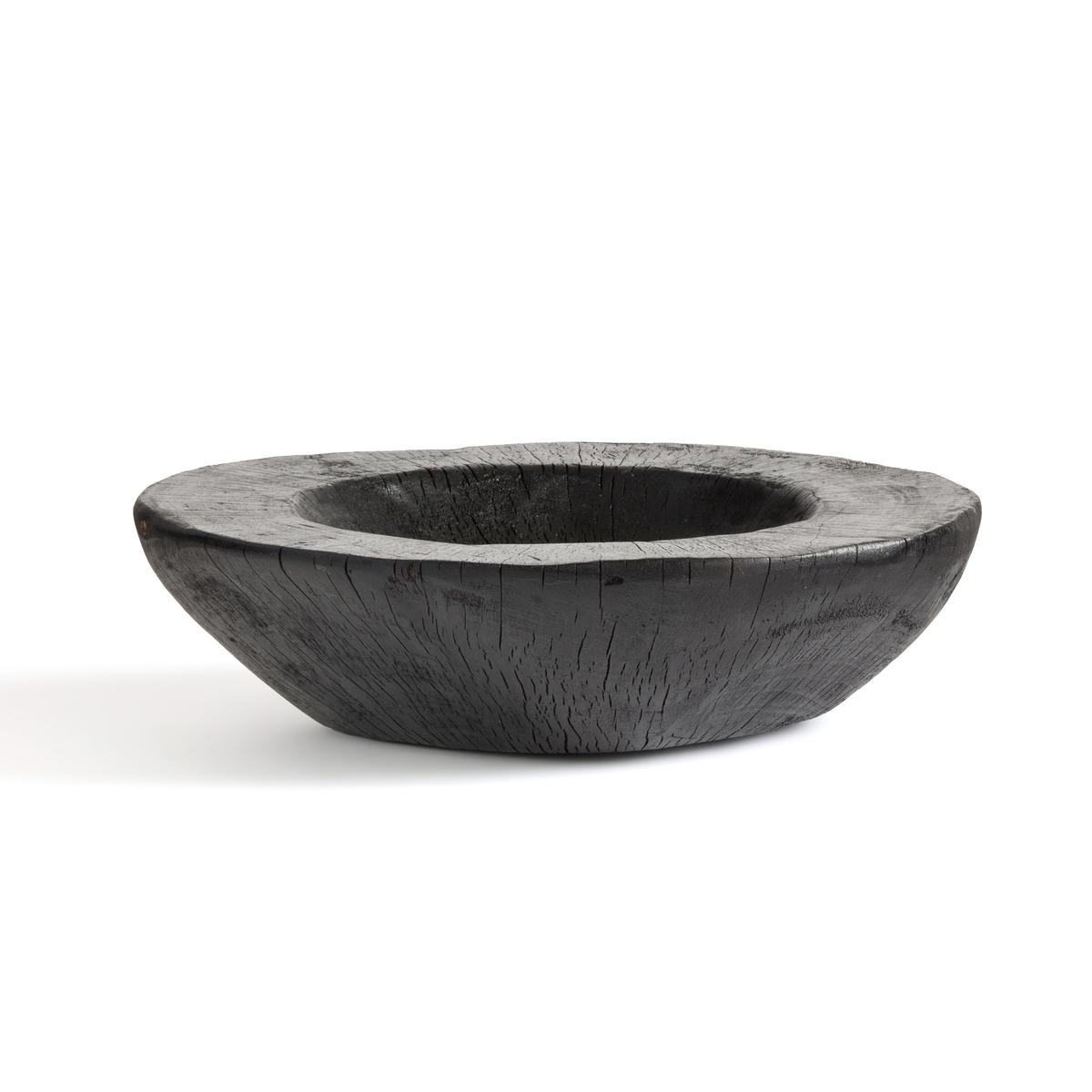 Чаша La Redoute Из обожженного дерева Utah единый размер черный