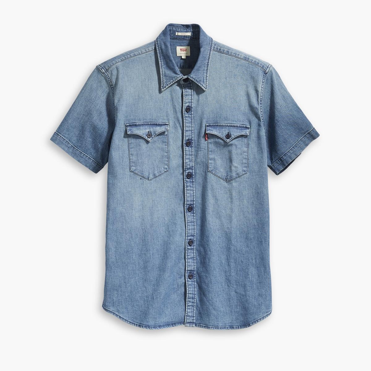 Camisa de manga corta recta Barstow Western