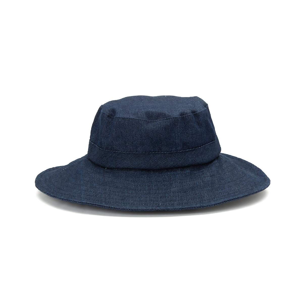 сарафан la redoute из легкого денима 5 лет 108 см синий Шляпа La Redoute Из денима UNI синий