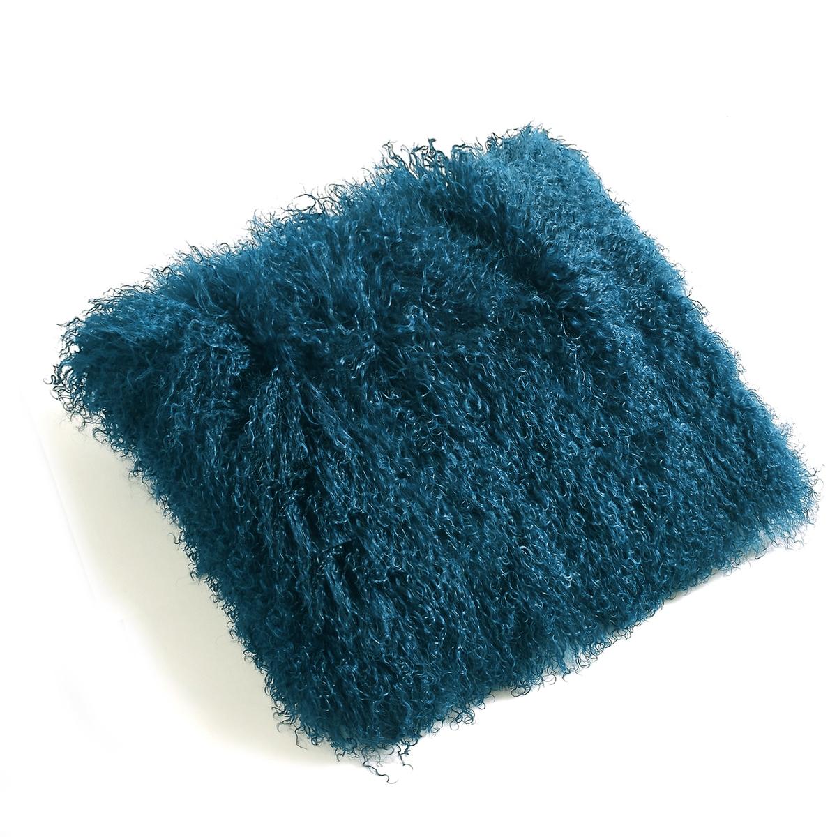 Чехол для подушки REDOUTE CREATION<br><br>Цвет: сине-зеленый,синий морской<br>Размер: 40 x 40  см