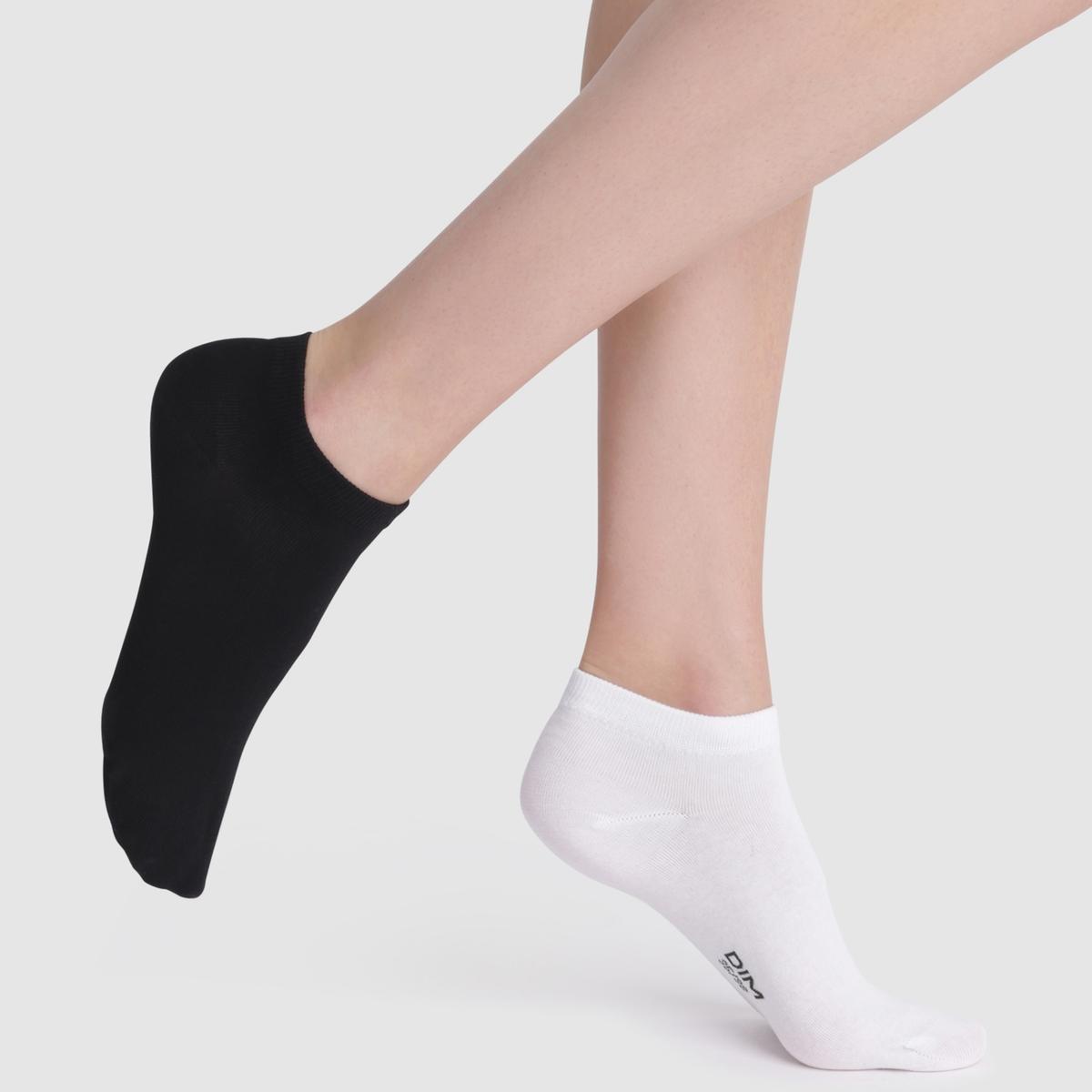 Imagen adicional 2 de producto de Calcetines cortos, lote de 2 pares - DIM