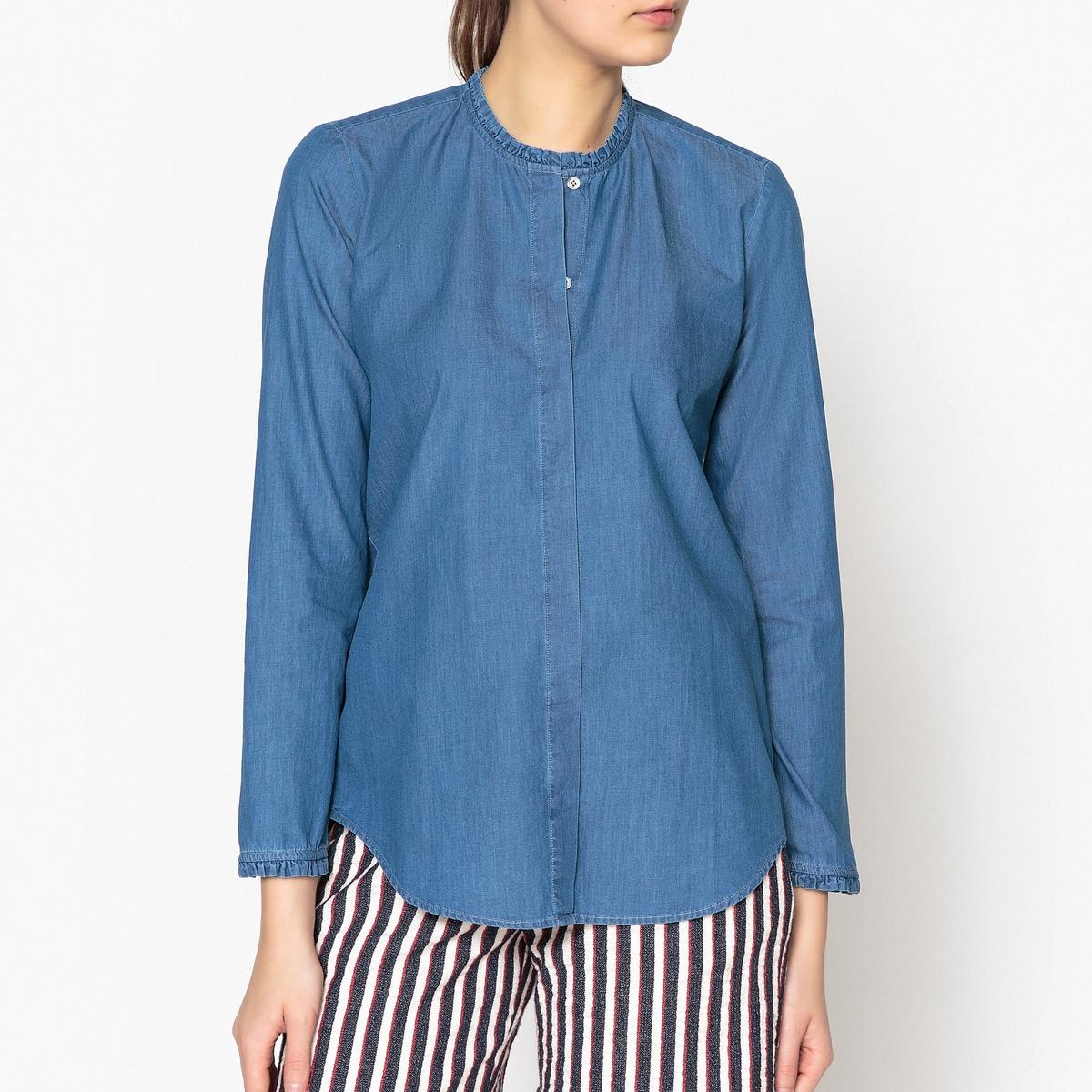 Рубашка с воротником со складками CAMILLE camille s team