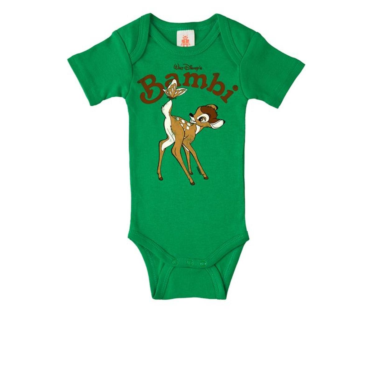 Body bébé Bambi - Disney - Body bébé de Logoshirt -  vert