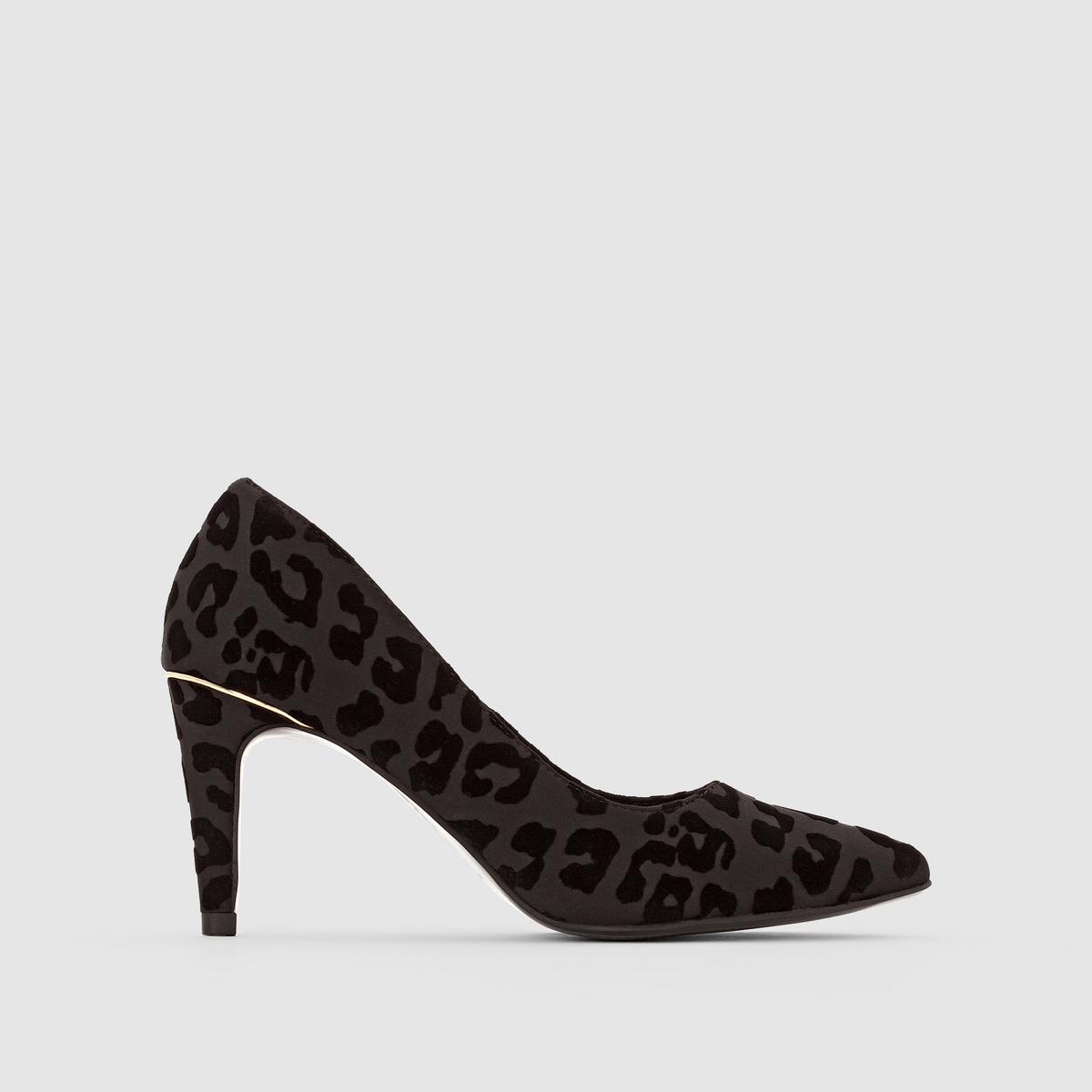 Туфли с леопардовым рисунком 22457-27