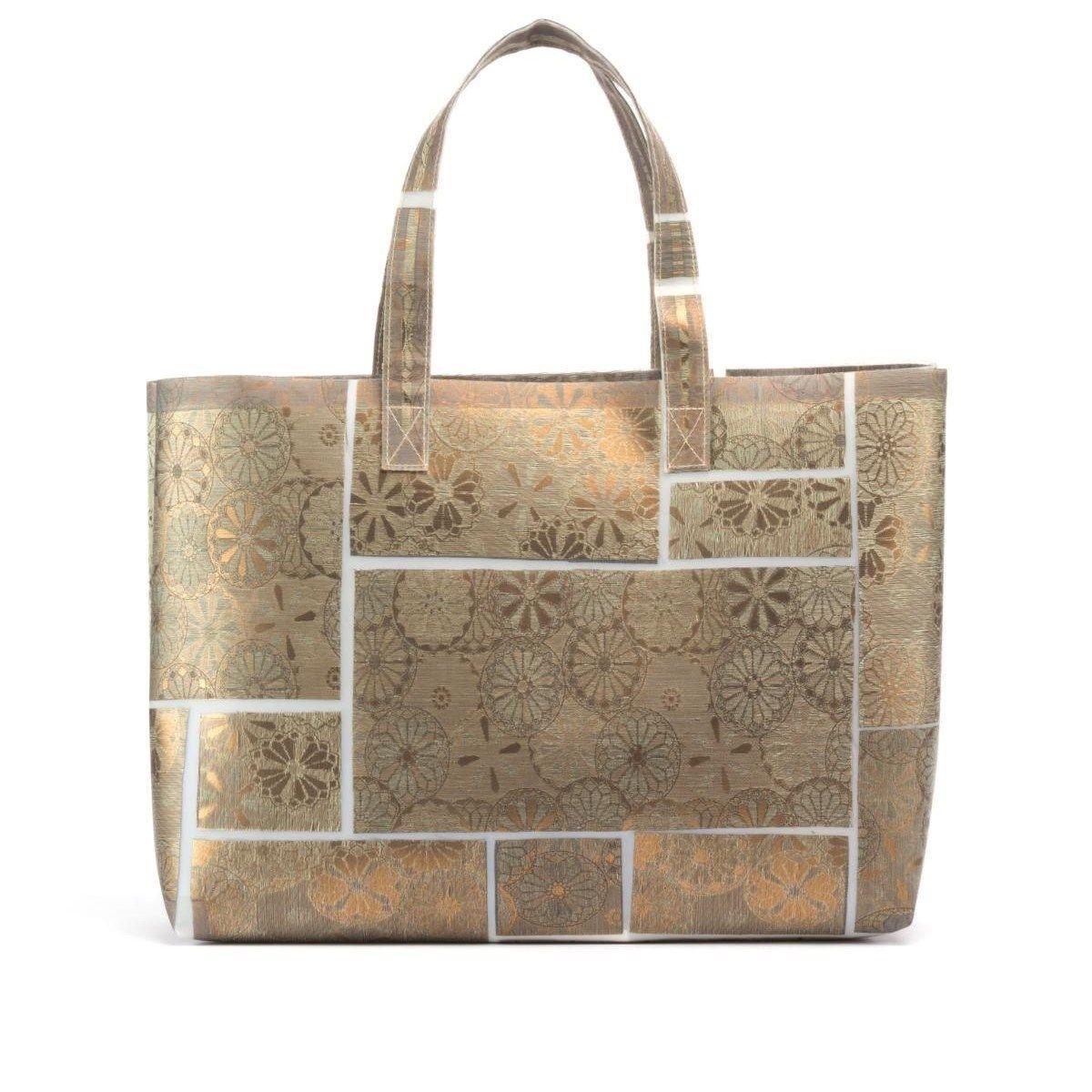 Grand sac Cabas tissus précieux Fil textile Giuseppe