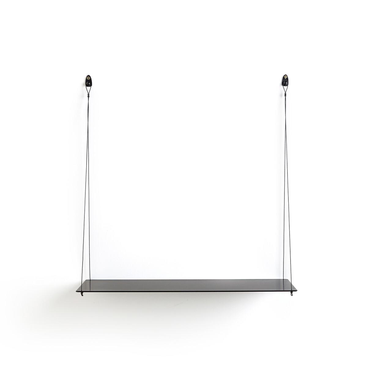 Полка La Redoute Из металла Spirollo единый размер черный этажерка la redoute с полками remia единый размер белый