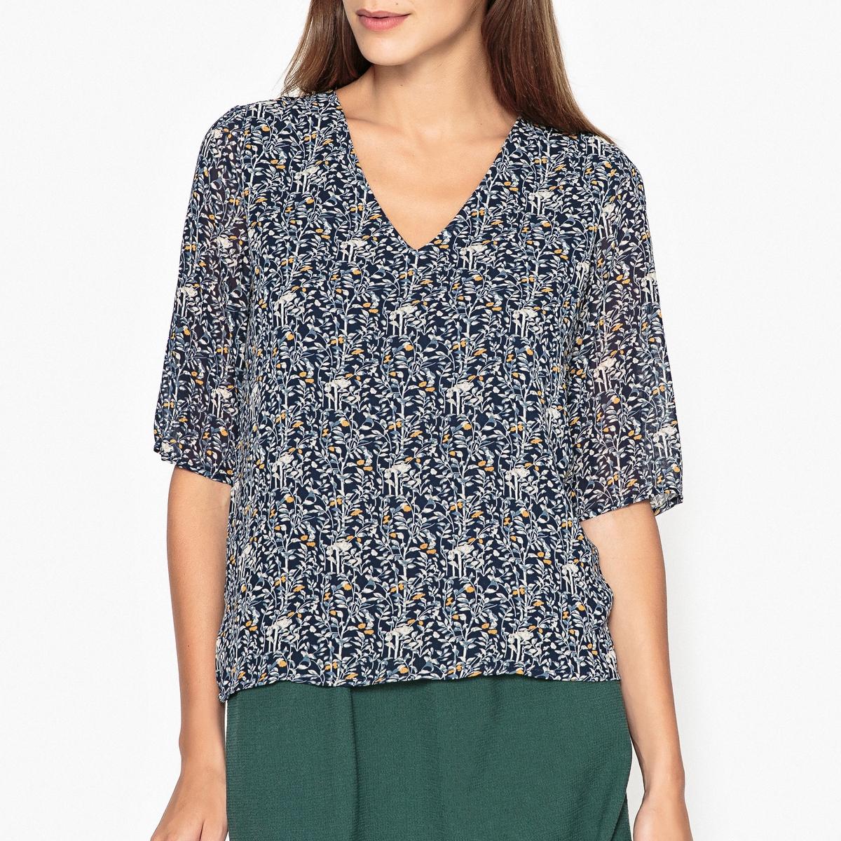 Блузка с рисунком PAQUERETTE