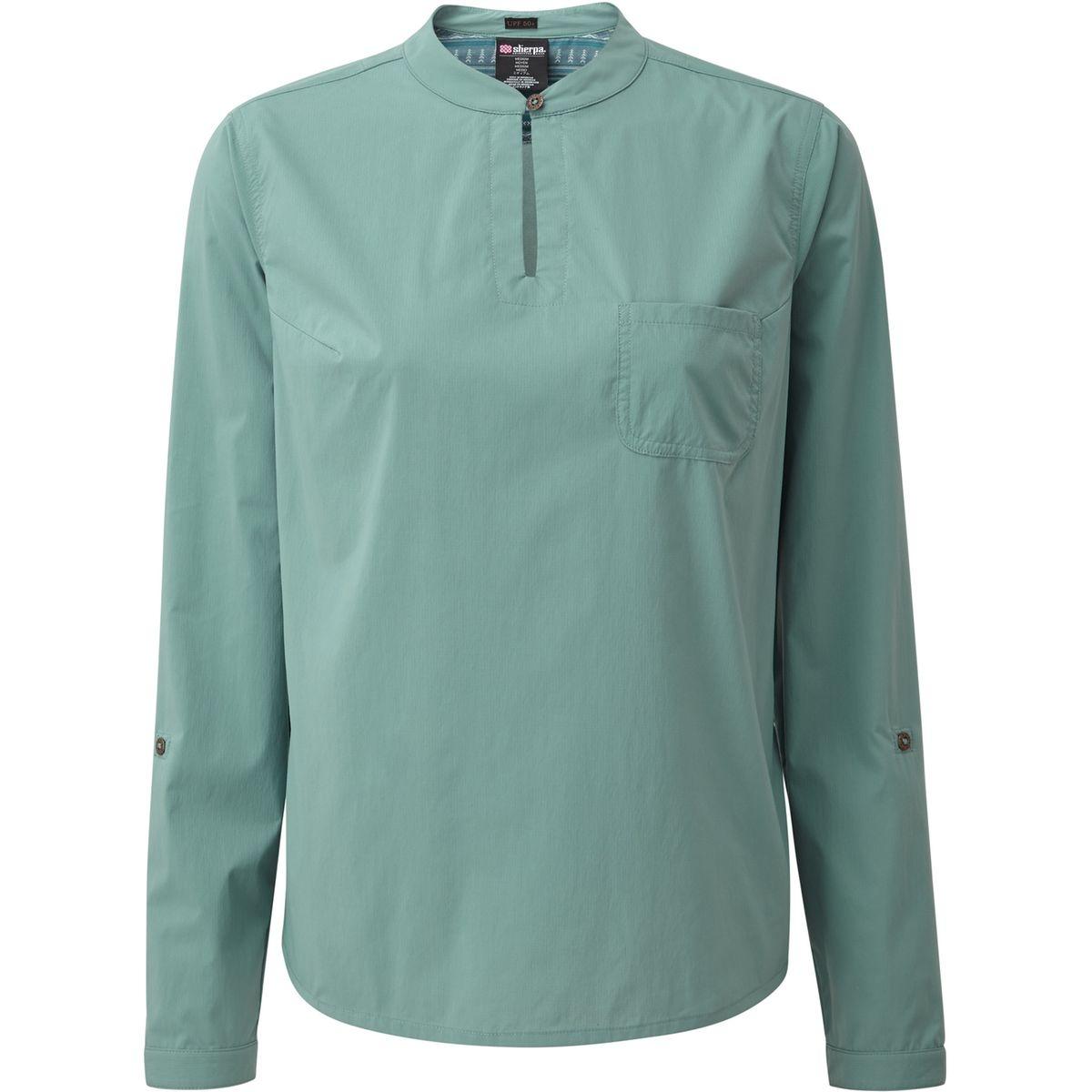 Ravi - T-shirt manches longues Femme - vert